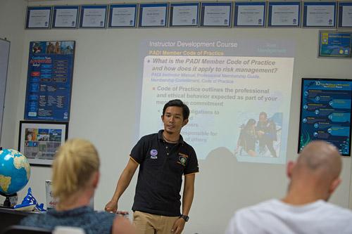 PADI Instructor Development Course