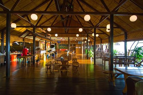 Dinning at Lankayan Island