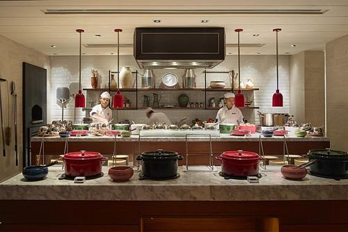 Rasa Ria Oceano Restaurant Open Kitchen