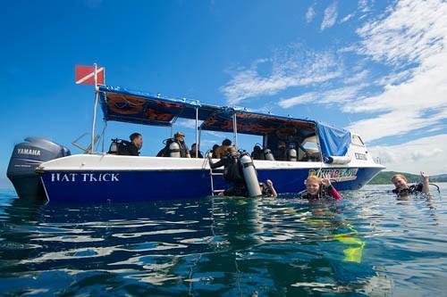 stay scuba diving borneo