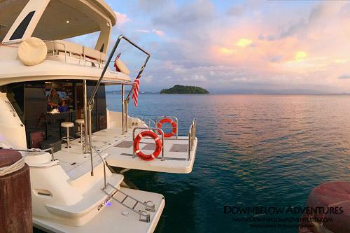 Luxury Sunset Cruise Kota Kinabalu